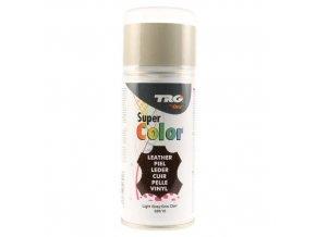 Šedá Barva na kůži ve spreji Super Color TRG Light Grey 320 sedy barvici sprej na boty