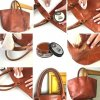 Oprava kožené kabelky Jak zrenovovat kůži Krém na boty Shoe Cream TRG