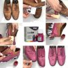 Navod Barva na kuzi Barva na boty Easy Dye TRG the One Jak nabarvit boty Fuchsia 125