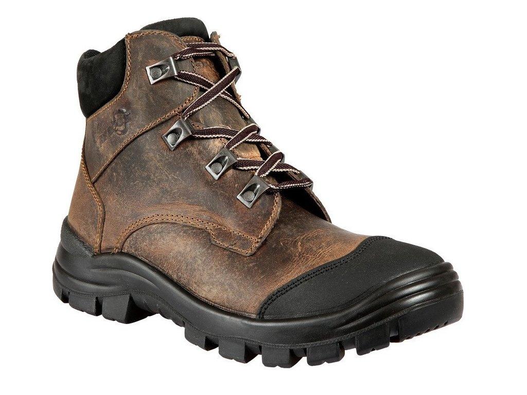 Pracovní obuv PRABOS Farm B O1 S94881 hnědá