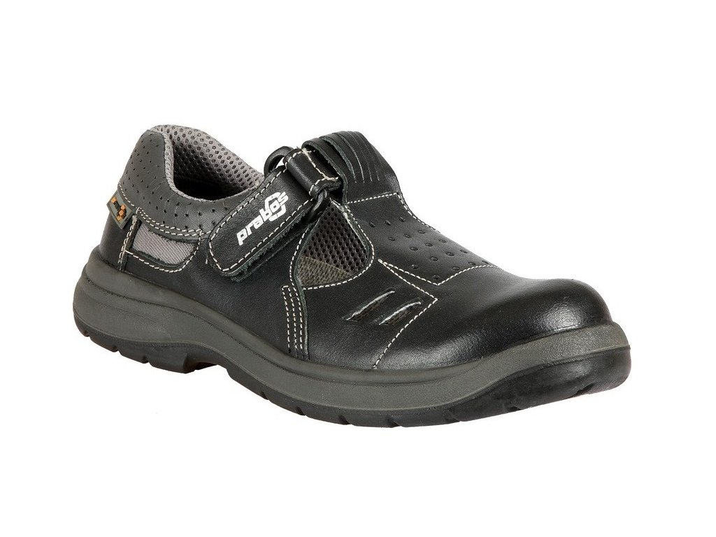 Bezpečnostní sandál PRABOS Richard S1 S21533 - černá