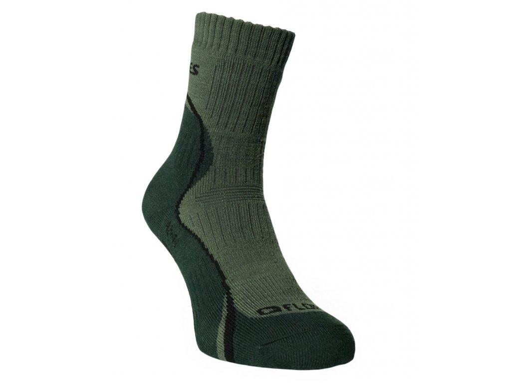 Funční ponožky FLORES Army