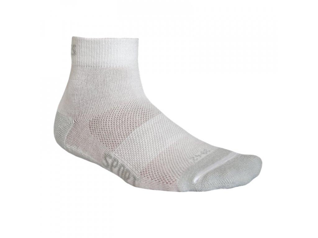 Funkční ponožky FLORES Sport - bílá