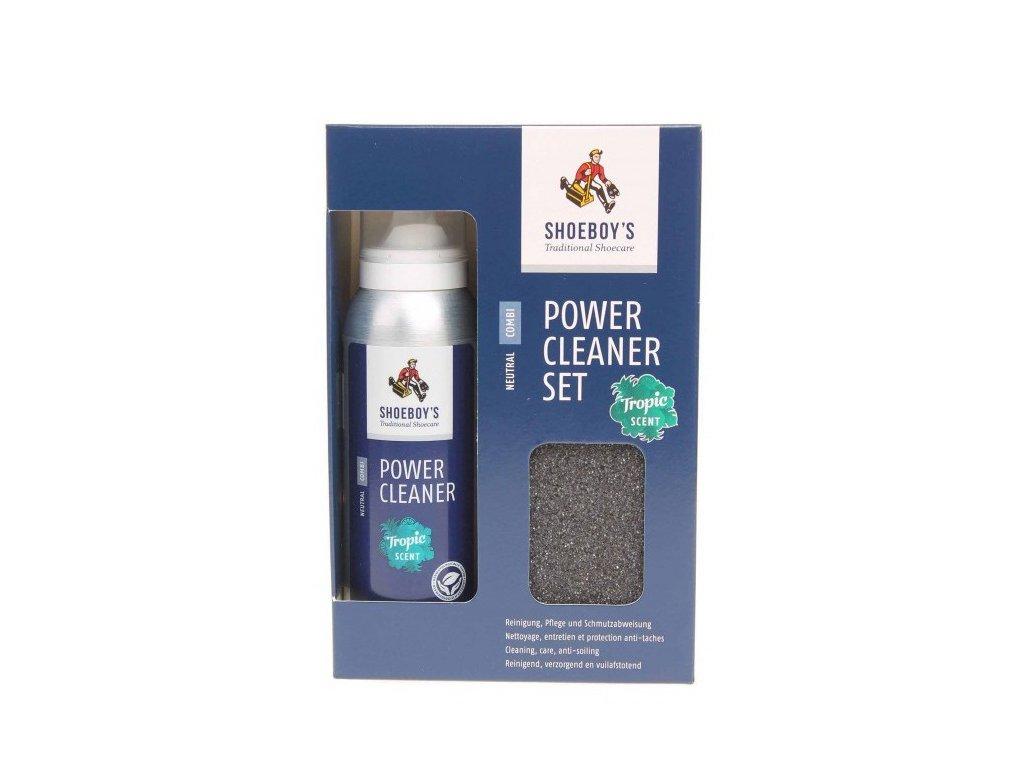 Impregnace SHOEBOY'S Power Cleaner Set 125 ml