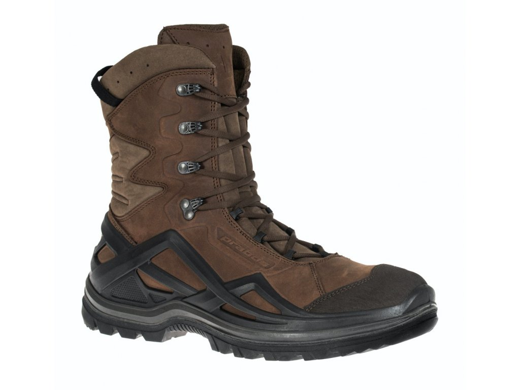 Obuv PRABOS Nomad High loamy brown S90333