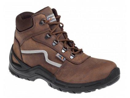 Pracovní obuv PRABOS Farm Mars O2 S20022 hnědá