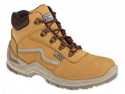 Pracovní obuv PRABOS Farm Mars O2 S20022 písková