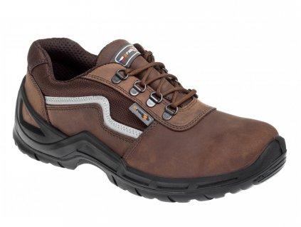 Pracovní obuv PRABOS Farm Mars O2 S30174 hnědá