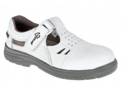 Bezpečnostní sandál PRABOS Richard S1 S21533 - bílá