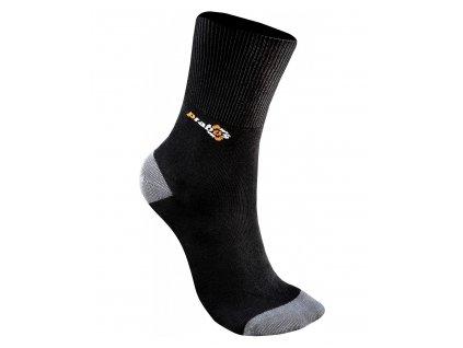 Ponožky PRABOS Bambus - černá