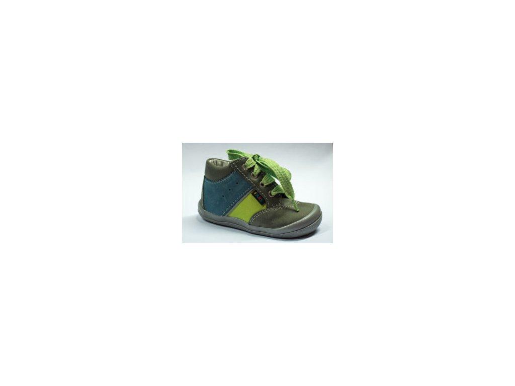928ecb2ad0e Celoroční obuv Fare 2121131 zeleno-modré - Boty Rybička