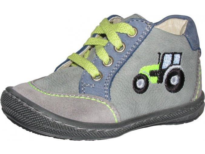 Celoroční obuv Szamos 1405-205461 traktor, tkaničky