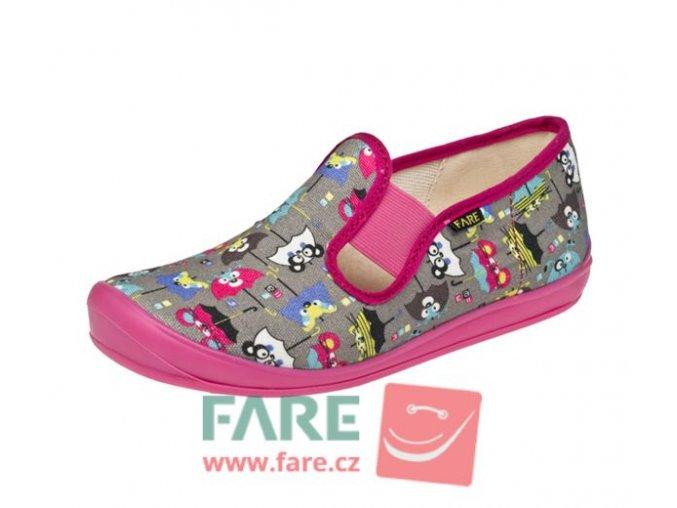 Papuče Fare  4211446 dívčí