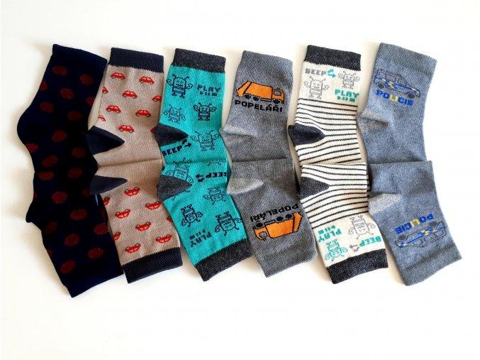 Ponožky Knebl vyšší - chlapecké