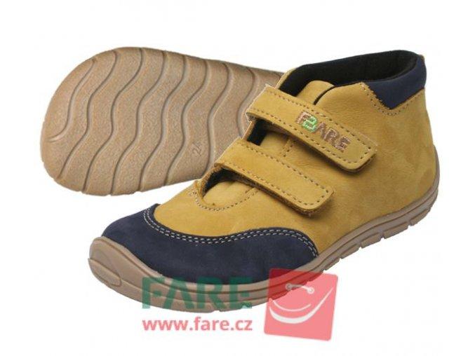 Celoroční obuv  Fare Bare 5121281 -chlapecké
