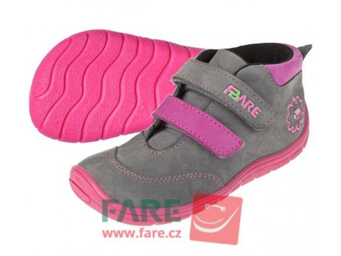 Celoroční obuv  Fare Bare 5121252-dívčí