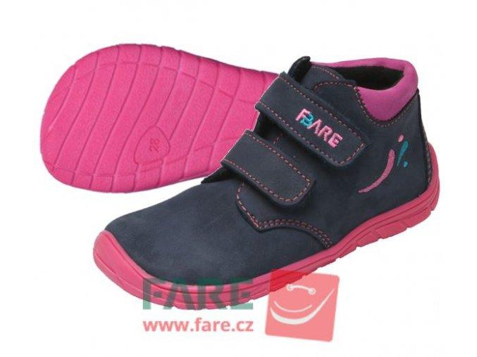 Celoroční obuv  Fare Bare 5221211-dívčí