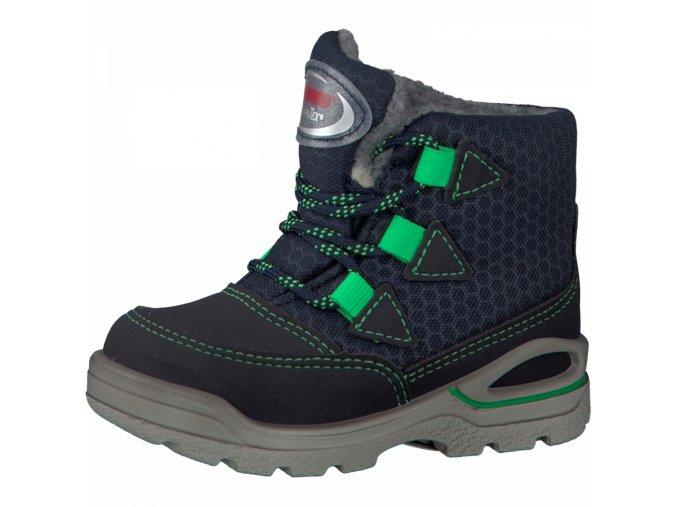 Zimní obuv Ricosta Emil 39301/182 ozean/grun