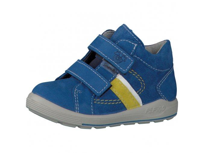 Celoroční membránová obuv Ricosta 71 2430100/151 LAIF azur Nubuk/Velour