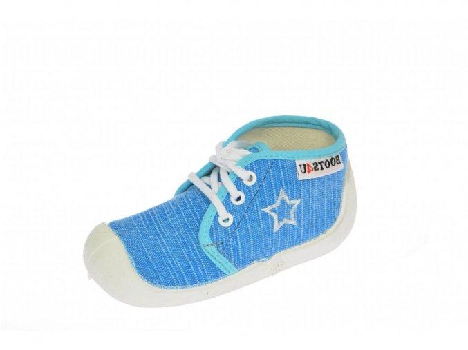 Capáčky-tenisky Boots4you Tyrkys