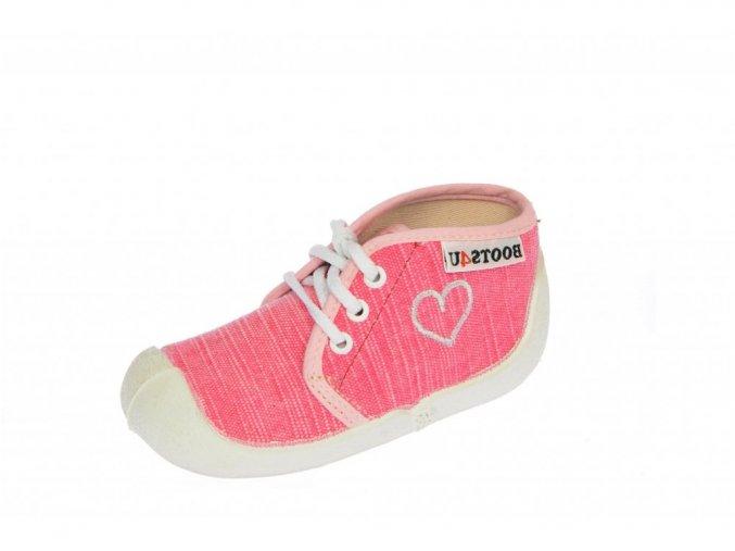 Capáčky-tenisky Boots4you Pink