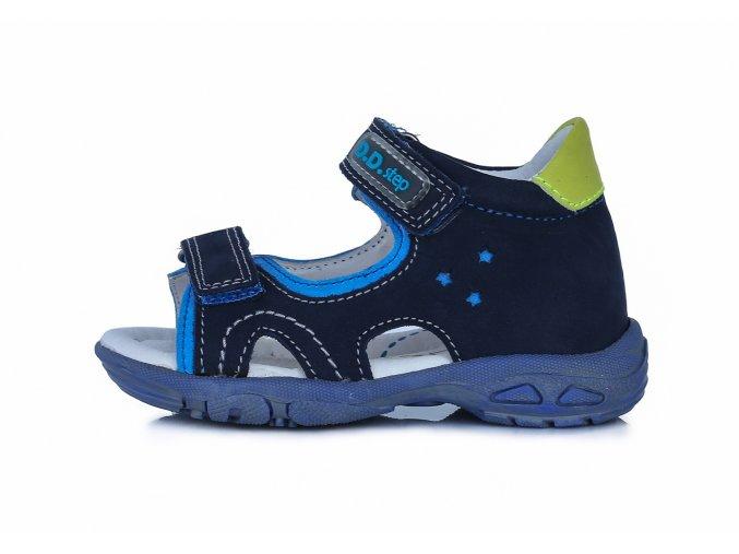 Letní obuv  DDstep sandály AC290-7031 Royal blue