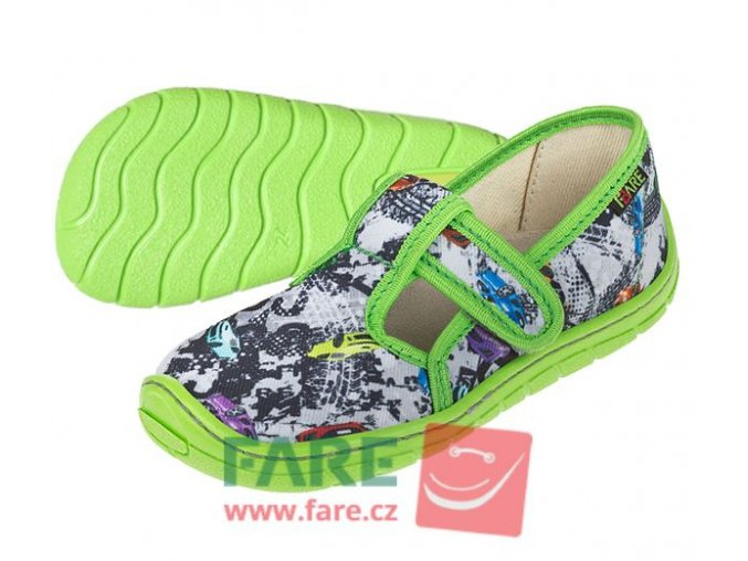 Papuče Fare BARE 5102431/5202432 chlapecké