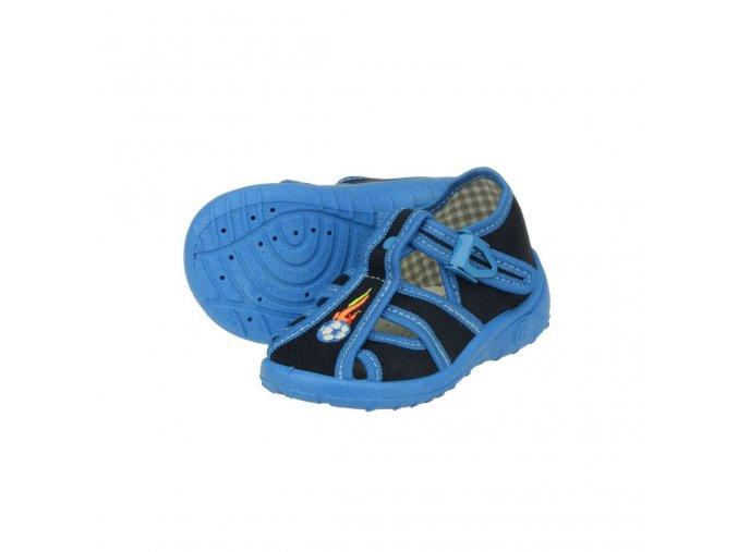 Papuče PEON rovná chlapecká NA/024BD