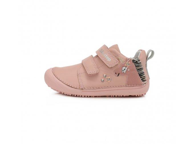 Celoroční obuv DDstep barefoot 063-916M Pink
