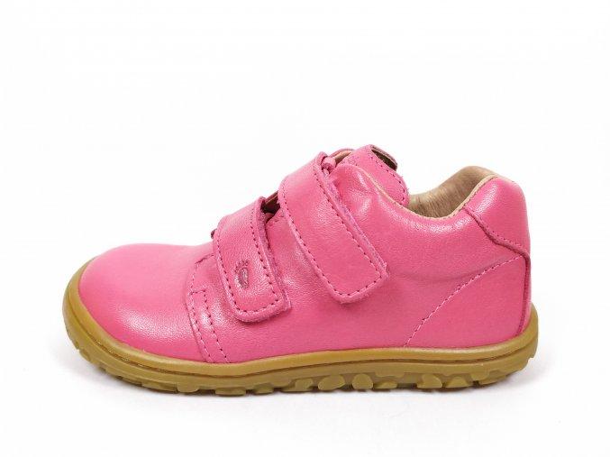 Celoroční barefoot boty Lurchi 33-50004-03 Nappa rosa