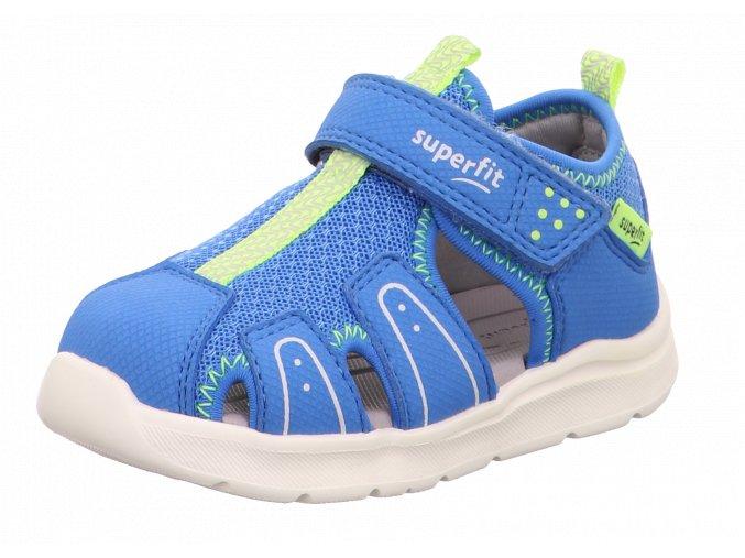 Letní obuv Superfit 1-000478-8010 Blau/Gelb