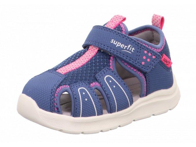 Letní obuv Superfit 1-000478-8020 Blau/Rosa
