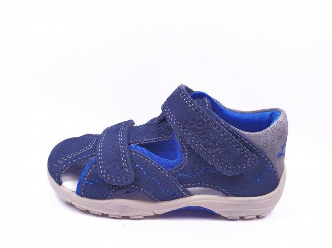 Letní obuv Lurchi 33-16051-43 Suede Navy Blue