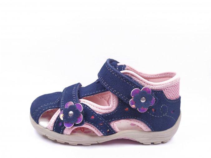 Letní obuv Lurchi 33-16048-49 Suede Navy