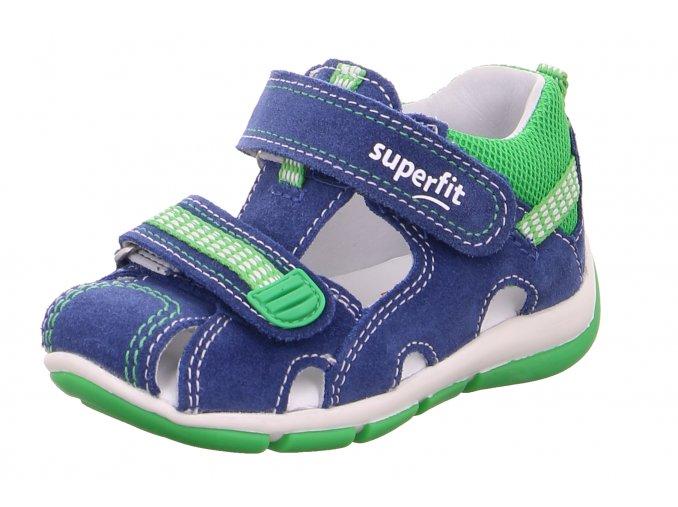Letní obuv Superfit 0-600140-8000 Blau/Grun