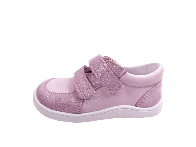 Celoroční barefoot obuv Baby Bare Febo youth - růžové