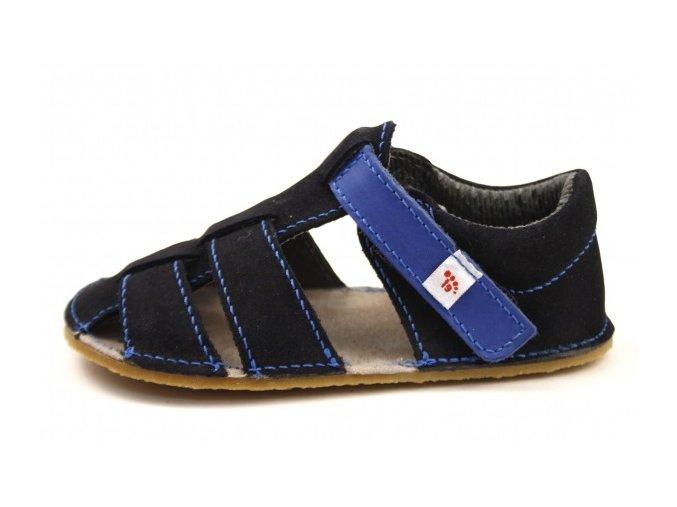 Barefoot sandálky EF tmavě modré