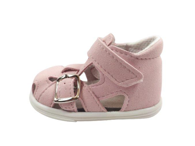 Letní obuv Jonap 009MF - růžová