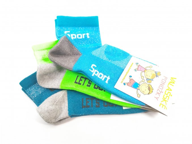 Ponožky Knebl nízké - chlapecké