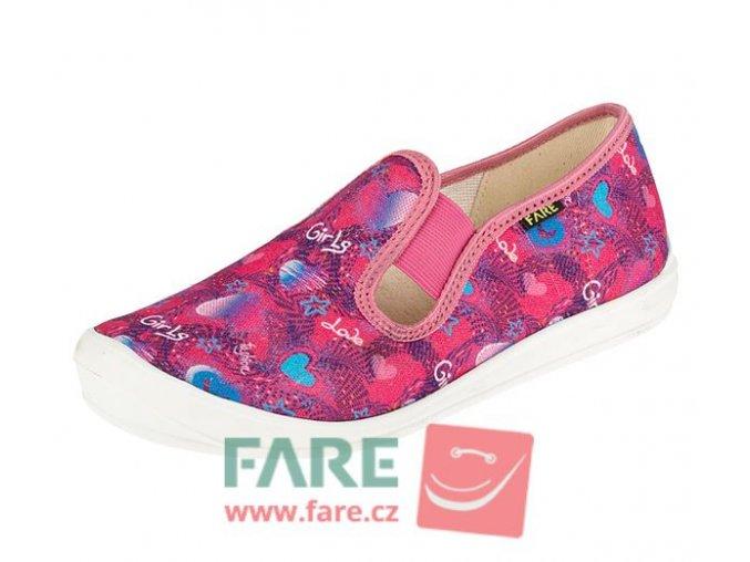 Papuče Fare 4211449 dívčí