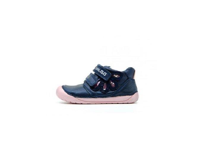 Celoroční obuv DDstep barefoot S070-80 Royal blue