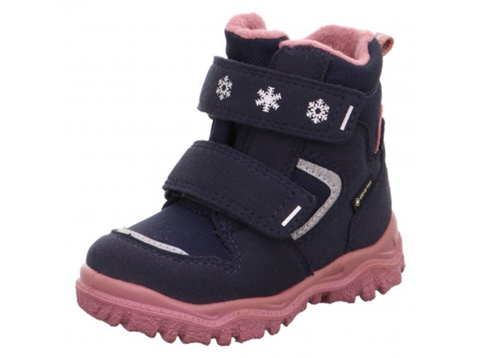 Zimní obuv Superfit 1-000045-8010 blau/rosa