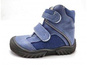 Zimní obuv Jonap 055 MV modrá chlapec