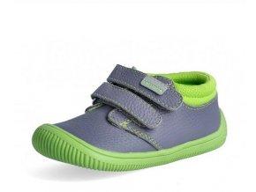 Celoroční barefootová obuv Protetika Rony green