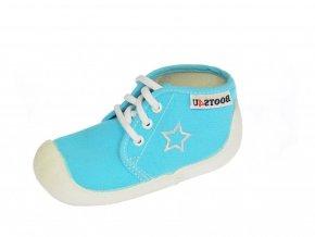 Capáčky-tenisky Boots4you Světle modré