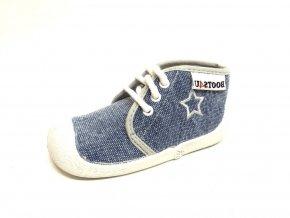 Capáčky-tenisky Boots4you Jeans světlý