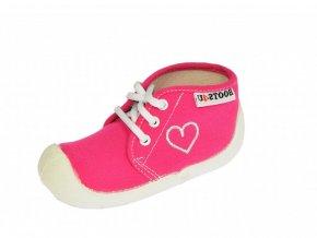 Capáčky-tenisky Boots4you Růžové