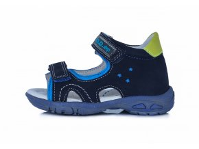 Sandálky DDstep AC290-7031 Royal blue