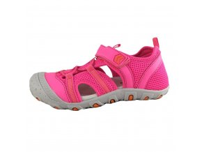 Letní obuv Bugga - Hot pink/grey