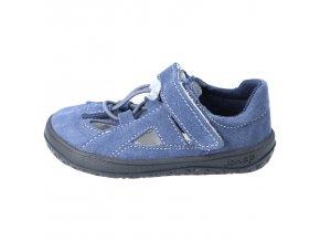 Letní obuv Jonap barefootové sandály B9S Modré